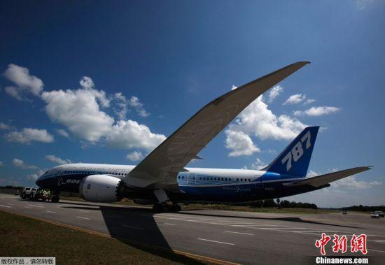 资料图:波音787客机.-波音787停飞揭示模块化生产方式致命弱点