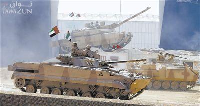 阿布扎比防务展中国军工新品受关注