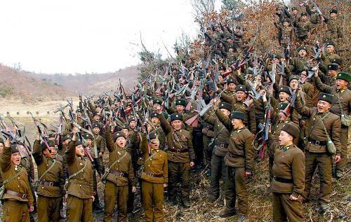 朝鲜官方媒体称人民官兵进入决战状态