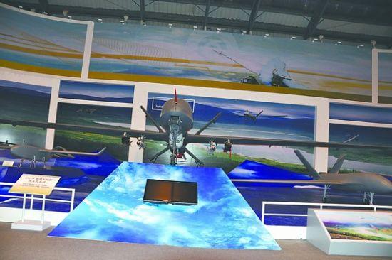 中国CH-4型无人机能挂载多种导弹