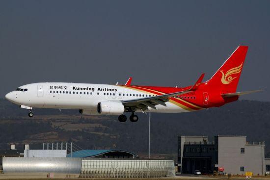 昆明航空提供在昆雅安人100张探...