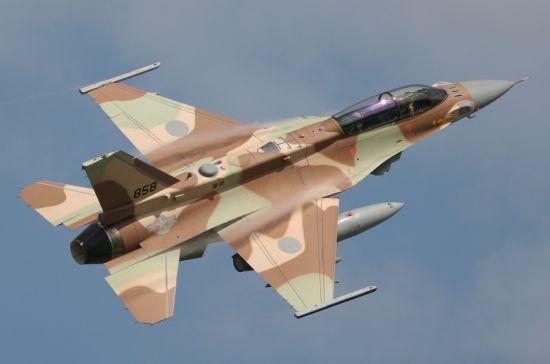 资料图:以色列F-16战机