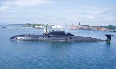 """资料图:印度""""歼敌者""""号 核潜艇"""