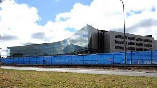即将竣工的澳大利亚安全情报局总部大楼。