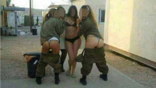 以色列女兵发布的不雅照片