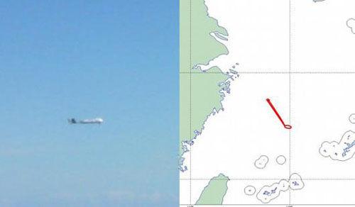 """日本防卫省于9日表示,发现有不明国籍的无人机进入了东海上空的日本""""防空识别区"""",在钓鱼岛附近上空飞行。(资料图)"""