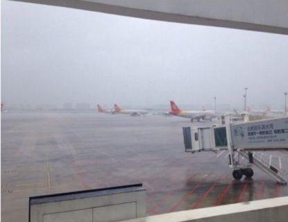 三亚机场午后将现中到强阵雨 风力10至11级