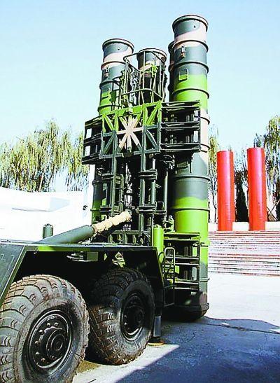 资料图:中国红旗-9防空系统。