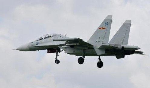 资料图:中国空军的苏-30