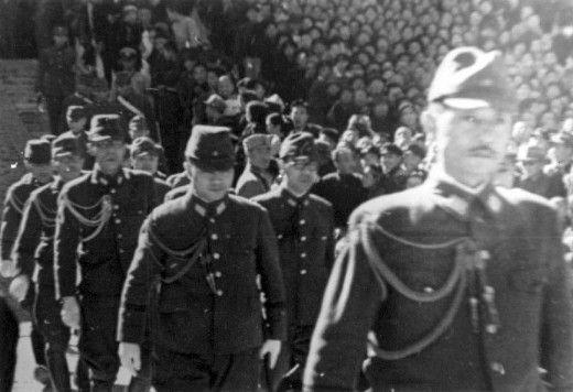 1945年北平太和殿日军投降仪式