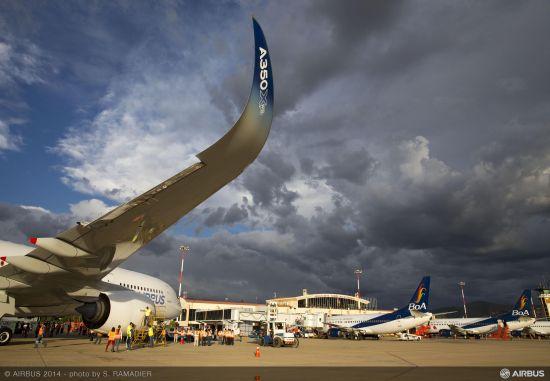 空客A350XWB宽体机进行高高原测试