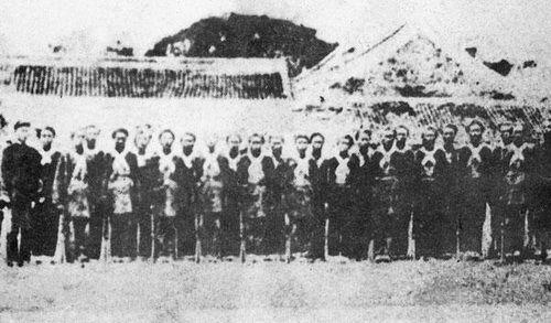 围攻上海的太平天国军队。(来源:时代周报)