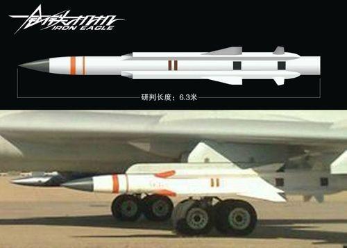 资料图:中国鹰击12反舰导弹