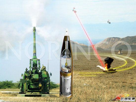 资料图:GP-1 155毫米灵巧制导炮弹