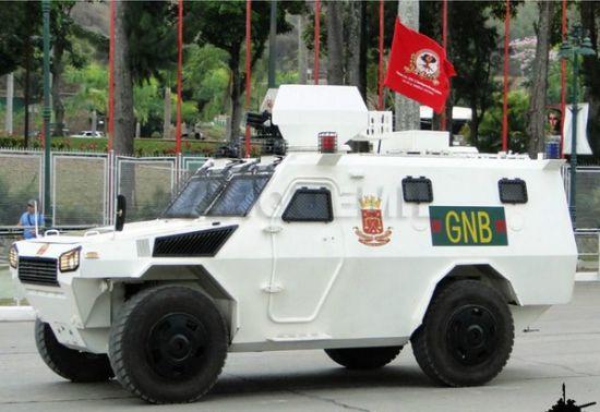 资料图:委内瑞拉公开展示了从中国北方公司购买的VN-4防暴车。