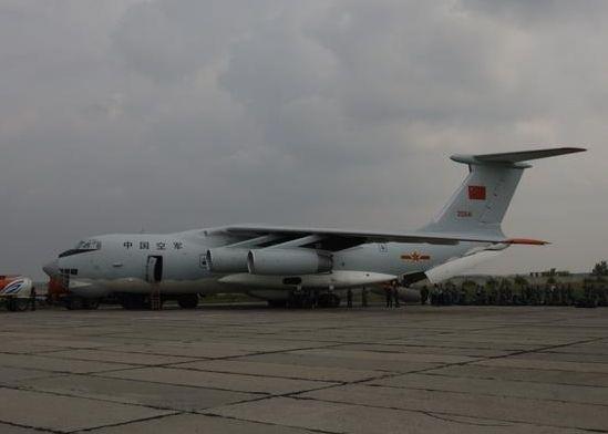 资料图:中国空军伊尔76运输机
