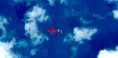 图2 疑似漂浮物体2(中国资源卫星应用中心供图)