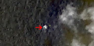 图3疑似漂浮物体3(中国资源卫星应用中心供图)