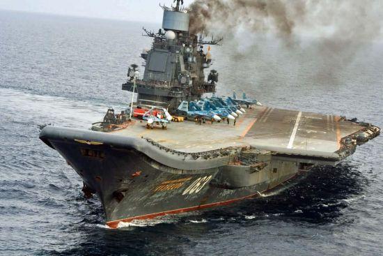 资料图:俄罗斯库兹涅佐夫号航母一直没有形成航母战斗群
