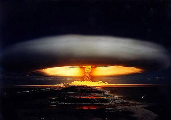 资料图:氢弹爆炸