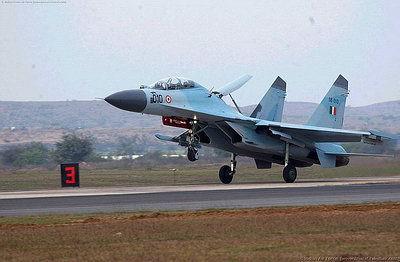 曾在印度空军服役的苏-30K