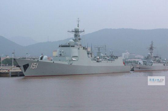 东海舰队的中华神盾151舰