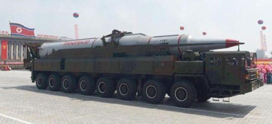 """资料图:获得""""北斗""""系统使用权将可大大提高朝鲜导弹的命中精度"""
