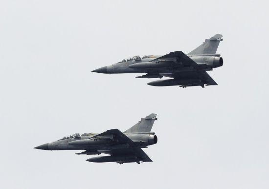 台湾空军幻影2000战机