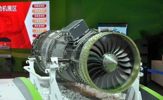 资料图:国产涡扇13航空发动机