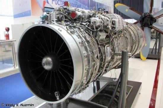 资料图:俄罗斯产的RD-93航空发动机