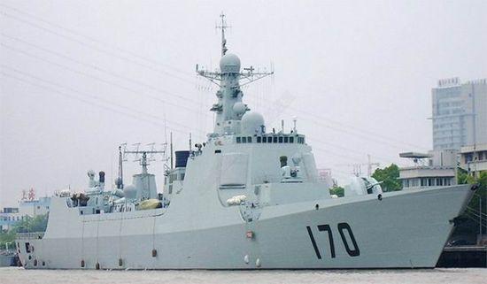 资料图:中国170舰