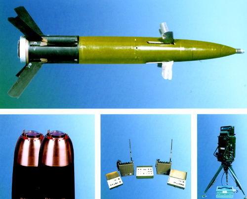 资料图:中国155毫米激光制导炮弹