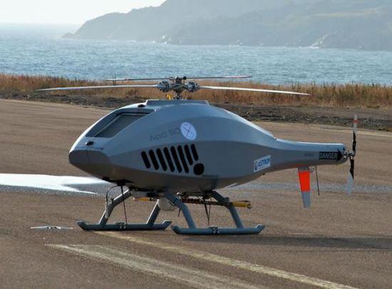 资料图:瑞典APID-60舰载无人机