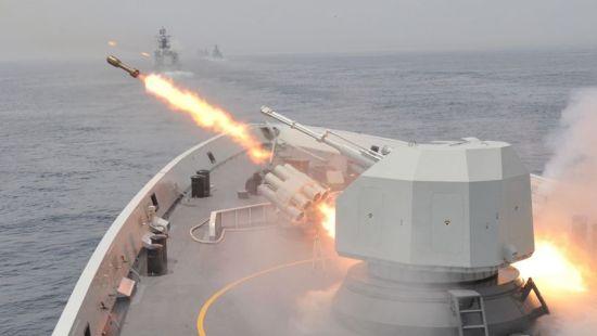 资料图:中国反潜火箭式深水炸弹