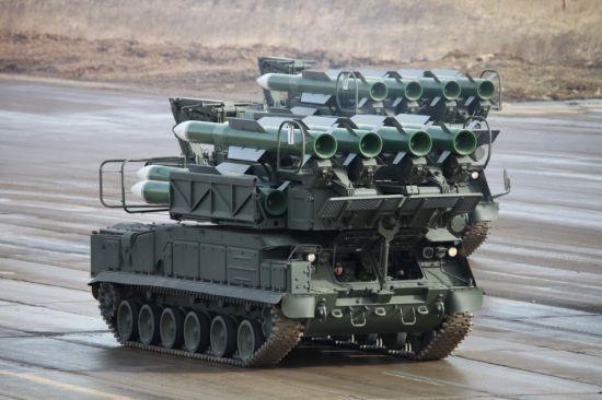 """被指击落马航客机的俄制""""山毛榉""""防空导弹"""