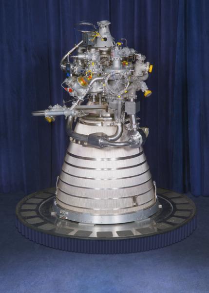 资料图:RD-120液体火箭发动机