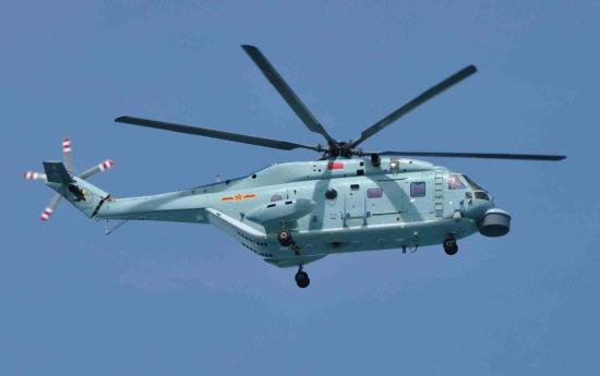 Z18F反潜直升机服役涂装