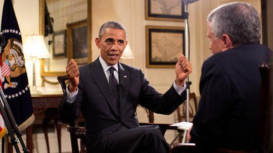 资料图:奥巴马上周五接受弗里德曼专访