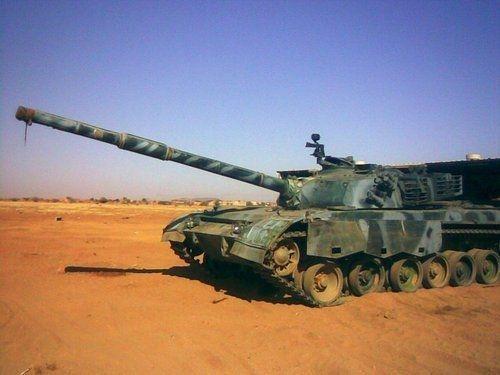 资料图:苏丹使用的96式坦克