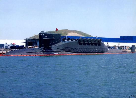 资料图:中国海军094级战略核潜艇