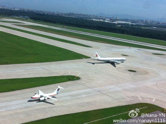 2013年8月19号,安-148在首都机场。