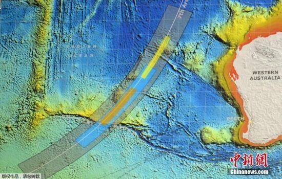 MH370失事相关海域