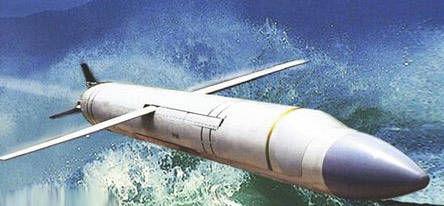 鹰击-18反舰导弹想象图