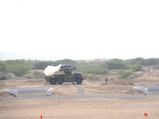 巴基斯坦胜利试射FM90导弹