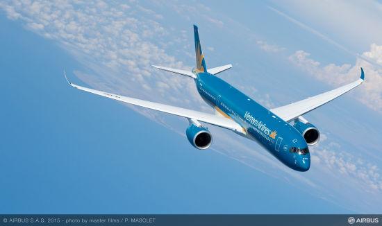 越南航空A350飞机
