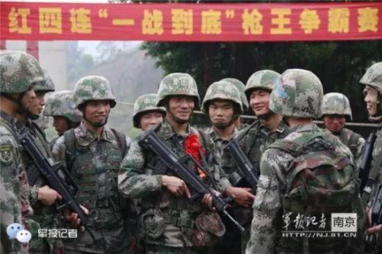 今:南京军区某部2营4连
