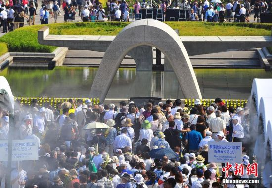 日本民众悼念遇难者