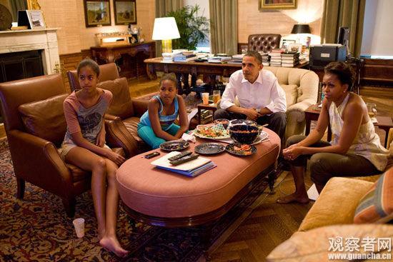 奥巴马在录节目