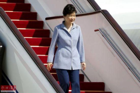 樸槿惠訪問中國