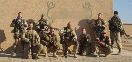 资料图片:网络上流传的在叙利亚作战的俄罗斯雇佣兵